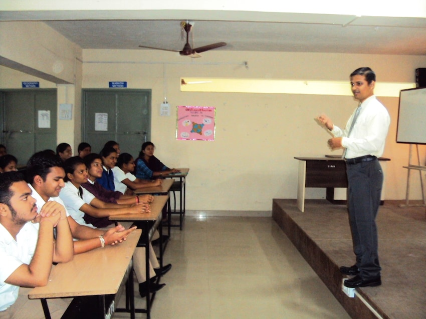 Dr. Anand in a Counselling session