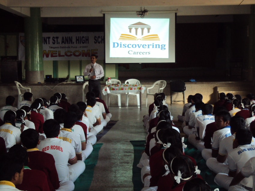 Dr. Anand in a Counselling session 3