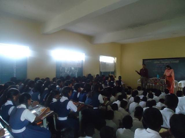 Prathamesh in Career Counselling Session