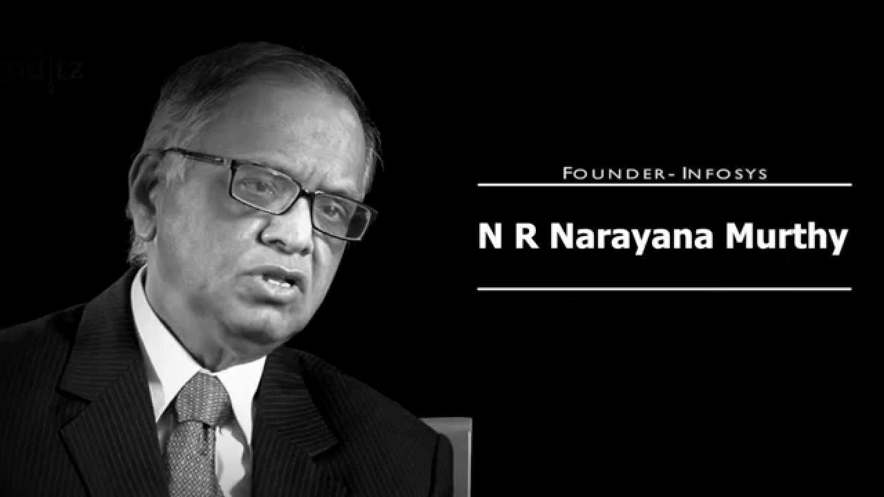 NR Narayana Murthy is a man who doesn't need any introduction.