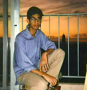 Pichai at the Stanford University residential quarters. (1994)