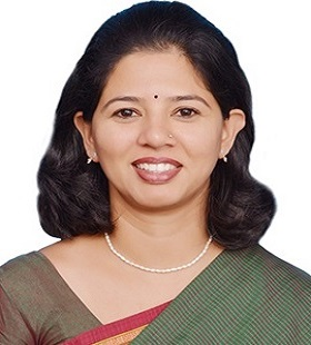 Preetha Ajit, helps student choose right career decision