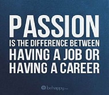 passion required to find a new career