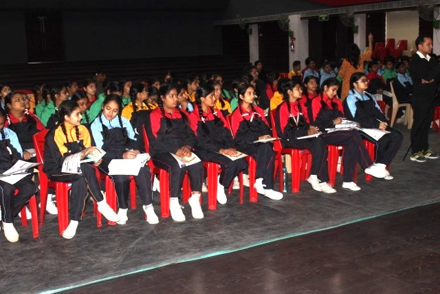 Counselling session for students in their selected career fields