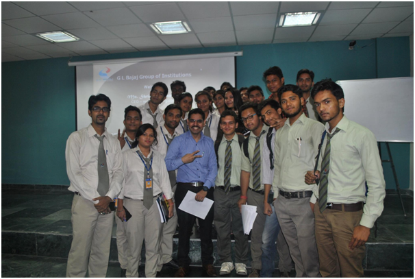 Students should understand Return on Time Invested (ROTI) in their career – Mr Aditya Sisodia