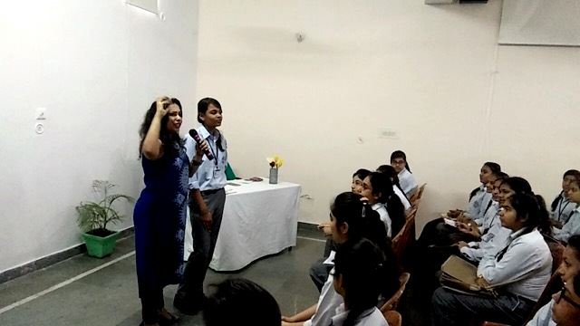 Career counselling event held in Gita Bal Niketan School of Faridabad