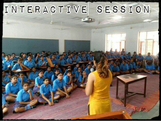 Mody School, a girls school takes the first step towards their career