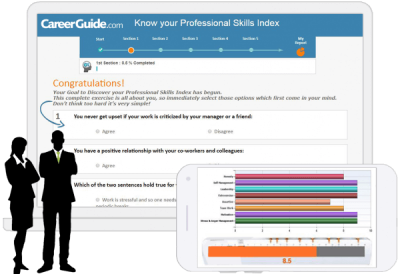 Professional skill index for working professionals