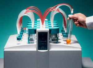Researcher Biological Samples Laboratory Purify Molecules Therapeutic Proteins