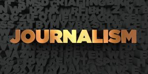 Journalism Gold Text Black Background D Rendered Royalty Free Stock Picture Image Can Be Used Online Website Banner 87914915