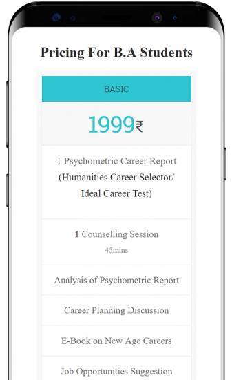 Basic Career Counselling for B.A.